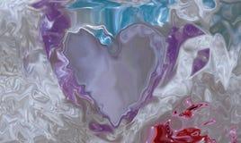 Ilustração traseira da abstração cor-de-rosa do fundo mal visível Imagens de Stock