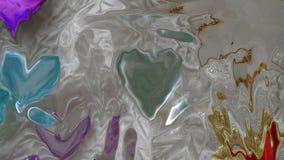 Ilustração traseira da abstração cor-de-rosa do fundo mal visível Imagens de Stock Royalty Free