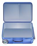 Ilustração vazia da mala de viagem Imagem de Stock