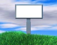 Ilustração vazia do quadro de avisos com espaço da cópia Fotos de Stock