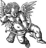 Ilustração velha do Cherub Imagem de Stock