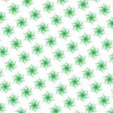 ilustração verde abstrata de roda do teste padrão das formas imagem de stock royalty free
