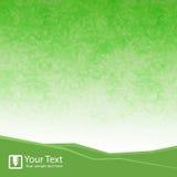 Ilustração verde abstrata do vetor do fundo Fotografia de Stock Royalty Free