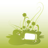 Ilustração verde do shamrock Fotografia de Stock Royalty Free