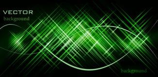 Ilustração verde do vetor do fundo Foto de Stock