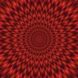Ilustração vermelha do túnel psicótico Ilustração Stock