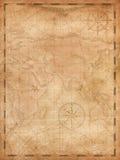 Ilustração vertical do fundo do mapa do tesouro dos piratas ilustração royalty free