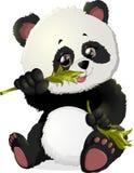 Ilustrações bonitos do urso de panda Fotos de Stock