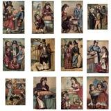Ilustrações do conto de fadas Fotografia de Stock