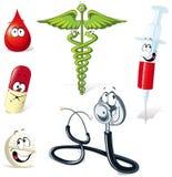 Ilustrações médicas Imagem de Stock Royalty Free