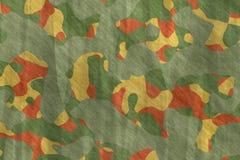 Ilustrações sem emenda Sumário do teste padrão da camuflagem de matéria têxtil foto de stock royalty free