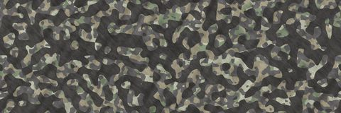 Ilustrações sem emenda Sumário do teste padrão da camuflagem de matéria têxtil imagem de stock royalty free