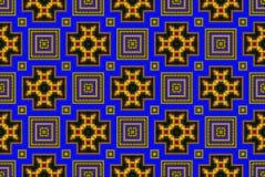 Ilustra??o de um fundo abstrato de uma pavimenta??o do quadrado da cor imagens de stock royalty free