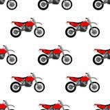 Ilustra??o de um teste padr?o da motocicleta ilustração royalty free