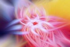 Ilustra??o do fractal do fulgor do cosmos do teste padr?o fluxo ilustração royalty free
