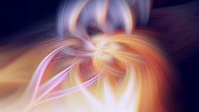 Ilustra??o do fractal do fulgor do cosmos do teste padr?o fogo do fluxo ilustração do vetor