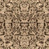 Ilustra??o sem emenda abstrata do teste padr?o de listras entortadas e da textura marmoreada da forma ilustração royalty free