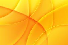 Ilustración abstracta amarilla stock de ilustración
