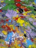 Ilustración abstracta coloreada de la pintura de la textura Fotos de archivo libres de regalías