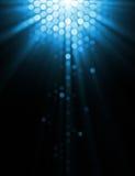 Ilustración abstracta de efectos luminosos Fotografía de archivo