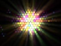 Ilustración abstracta de efectos luminosos Foto de archivo libre de regalías