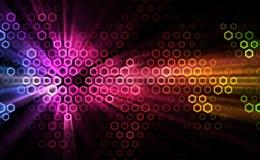 Ilustración abstracta de efectos luminosos Fotos de archivo libres de regalías
