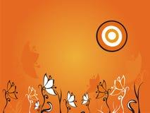 Ilustración abstracta de la flor Foto de archivo libre de regalías