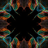Ilustración abstracta de la frontera Foto de archivo