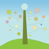 Ilustración abstracta del árbol Foto de archivo libre de regalías