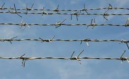 Ilustración abstracta del alambre de púas Fotografía de archivo libre de regalías