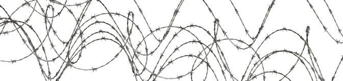 Ilustración abstracta del alambre de púas ilustración del vector
