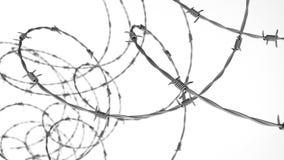 Ilustración abstracta del alambre de púas libre illustration