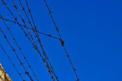 Ilustración abstracta del alambre de púas Foto de archivo