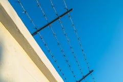 Ilustración abstracta del alambre de púas Foto de archivo libre de regalías