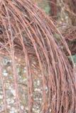 Ilustración abstracta del alambre de púas fotografía de archivo