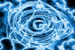 Ilustración abstracta del giro de la energía ilustración del vector