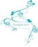 Ilustración abstracta del vector Imagen de archivo libre de regalías