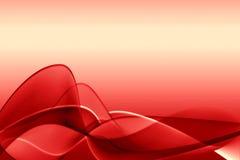 Ilustración abstracta roja Fotografía de archivo libre de regalías