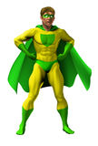 Ilustración asombrosa del super héroe Foto de archivo