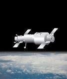 Ilustración basada en los satélites Foto de archivo libre de regalías