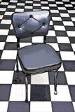 Ilustración blanco y negro de la silla Foto de archivo