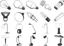 Ilustración clasificada de las luces Imágenes de archivo libres de regalías