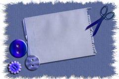 Ilustración común del arte de costura inmóvil Imágenes de archivo libres de regalías