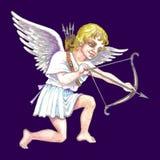Ilustración común del Cupid Fotografía de archivo libre de regalías