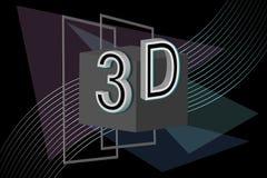 ilustración 3D Fotos de archivo