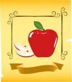 Ilustración de Apple ilustración del vector