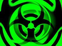 Ilustración de Biohazard Imagenes de archivo
