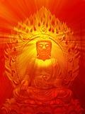 Ilustración de Buddha Fotos de archivo