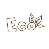 Ilustración de Eco Imagen de archivo libre de regalías