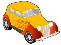 Ilustración de encargo del coche ilustración del vector